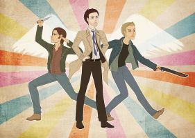Team Free Will by UmberEla