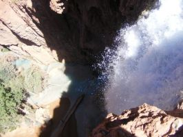 Mooney Falls by Kymography