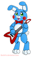 FNaF: Toy Bonnie~ by Beckitty