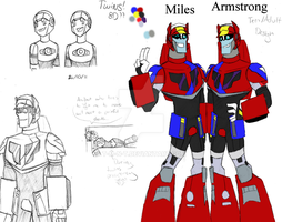 TFA: Miles and Armstrong by T-M-N-T