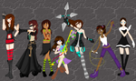 New Kingdom Hearts Warriors *Completed Collab* by FlyingPrincess