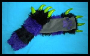 Monster Kitty Arm Warmers 3 by StuffItCreations