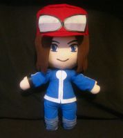Pokemon XY trainer plushie by PlushMayhem