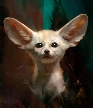 20150904 Fennec Fox Psdelux by psdeluxe