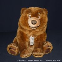 DisneyStore - Brother Bear - Kenai Plush 2003 by dapumakat