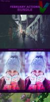 February Photoshop Actions BUNDLE by ViktorGjokaj