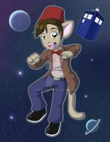 Doctor Who Print: Smith Kitty by NeroStreet