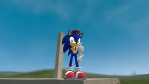 Tested New sonic model by sonicdevil18