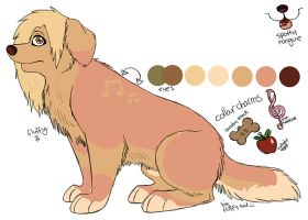 Goldenretriever Contest Entry by squishy-paws