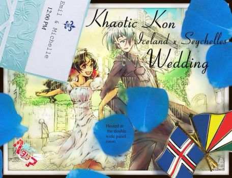 IcelandxSeychelles wedding banner  Khaotic 2014 by demyxsgal