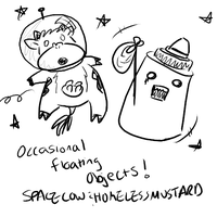 MMC :: Space Cow and H.Mustard by iPl0x