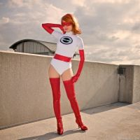 Elastigirl: Golden Years by MomoKurumi