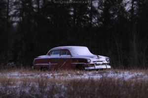 Abandoned Car by mattTIDBALL