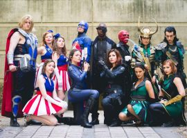 The Avengers Group by indyjones78