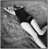 On the bed of sand by antoanette