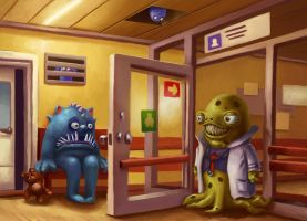 Hospital for viruses by ser1o