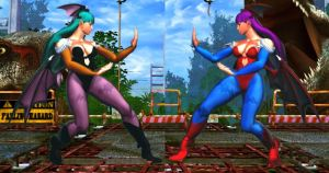 SFxT Mod - Chun Li: Morrigan Cosplay by Segadordelinks