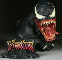 Venom bust by Sideshow collect by loqura