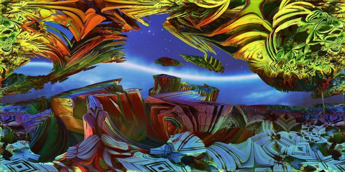 HOMAGE TO ROGER DEAN by DorianoArt