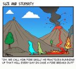 Fire drill by Size-And-Stupidity