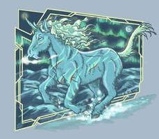 Winter Unicorn by shivikai