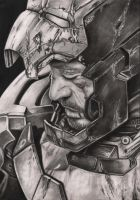 Robert Downey JR 'Iron Man 3' graphite drawing by Pen-Tacular-Artist