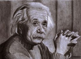 Albert Einstein by SophieReddyArt