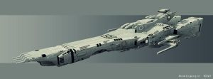 Supervision Army Gunboat by AtomicGenjin