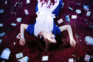 Alice Madness Returns : Red Wonderland by yaseminkaraca