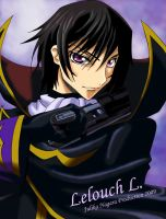 Lelouch Lamperouge -Zero by Julika-Nagara