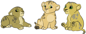 5 pt lion babs (closed) by pride-adopts