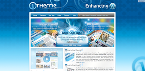 OneTheme Homepage by STRIF3wind