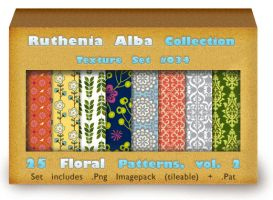 Txt Set 34: Floral Patterns, vol. 2 by Ruthenia-Alba