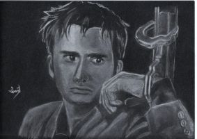 David Tennant by ElenyMaddarnOn
