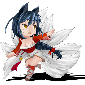 [League Of Legends] Ahri by Legalia