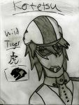 Kotetsu Sketch by ThatxAwesomexPerson