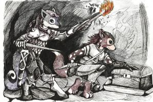 Quoll Dungeon Crawl by lemurkat