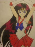 Sailor Mars by Highway3
