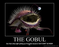 Monster Hunter Motivational: The Gobul by teambrownie1