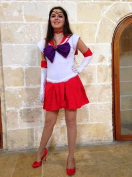 Sailor Mars costume by MalteseLizzieMcGee