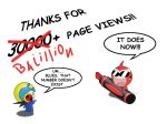 30000+ Page Views by Higure-san