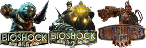 Bioshock Icon Pack by BenoitCouture