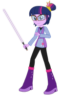 Jedi Master Twilight Sparkle by Amante56