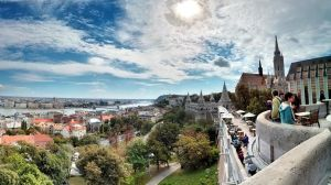 Buda Castle, Hungary by D-stractor