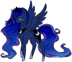 Luna by ponymonster