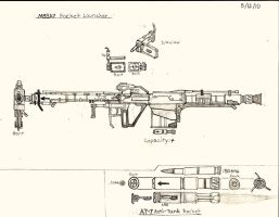 M88A7 Rocket Launcher by RedW0lf777sg