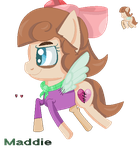 Mlp Maddie Sprite(icon/Pagedoll) by PonyPainterMaddie