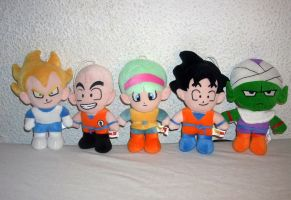 Dragonball plushies plush Ufo-catcher complete by kratosisy