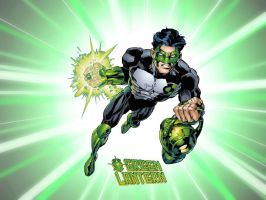 Kyle Rayner - Green Lantern by Superman8193