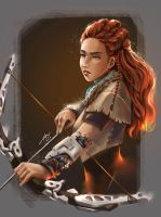 Horizon Zero Dawn - Aloy by chuaenghan